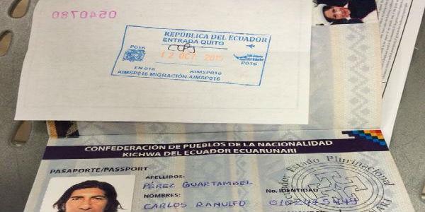 Ministerio del interior aclara que el pasaporte ind gena for Pasaporte ministerio interior