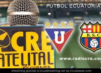 Liga de Quito vs Barcelona