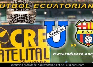 Universidad Católica vs Barcelona