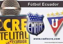 Emelec, LDU, Fútbol, Campeonato Ecuatoriano,