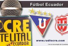 Liga de Quito, Técnico Universitario, Fútbol, Campeonato Ecuatoriano de Fútbol,