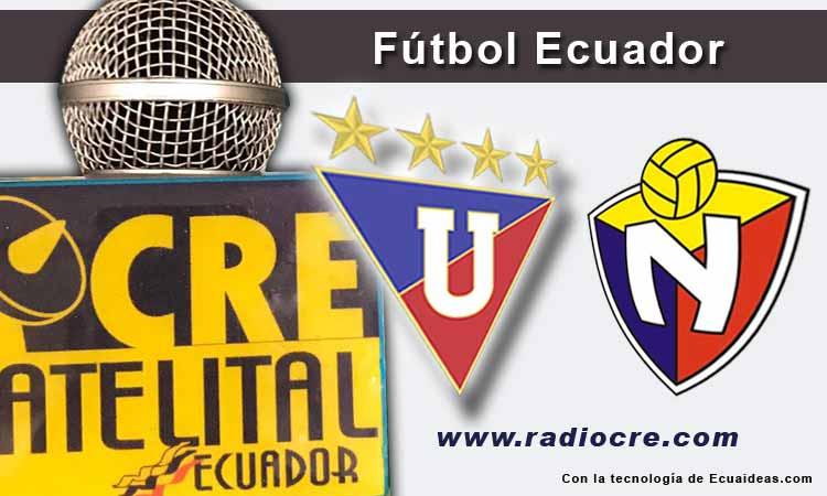 LDU de Quito, El Nacional, Futbol, Campeonato Ecuatoriano,