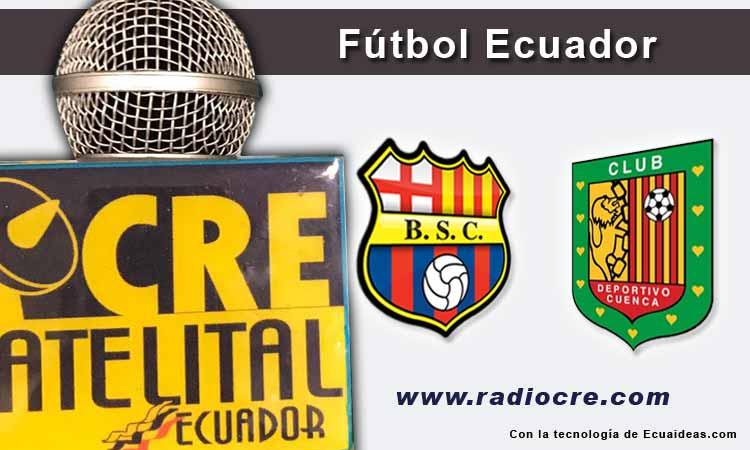 Barcelona, Deportivo Cuenca, Fútbol, Campeonato Ecuatoriano,