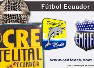 Delfín, Emelec, Fútbol, Campeonato Ecuatoriano,