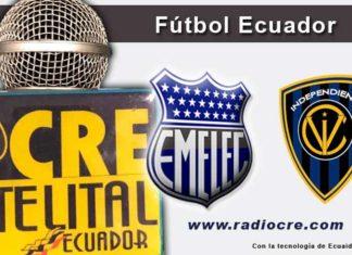 Emelec, Independiente del Valle, Fútbol, Campeonato Ecuatoriano,