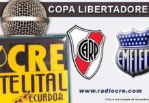 River Plate, Emelec, Fútbol, Copa Libertadores,