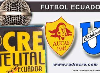 Aucas, Universidad Católica, Fútbol, Campeonato Ecuatoriano,