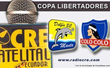 Delfín, Colo Colo, Fútbol, Copa Libertadores,