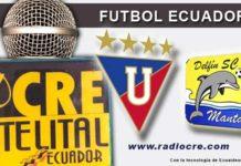Liga de Quito, Delfín, Fútbol, Campeonato Ecuatoriano,