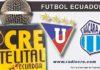 Liga de Quito, Macará, Fútbol, Campeonato Ecuatoriano,