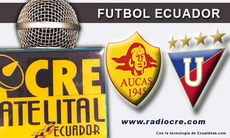 Aucas, LDU de Quito, Fútbol, Campeonato Ecuatoriano,
