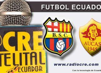 Barcelona, Fútbol, Aucas, Campeonato Ecuatoriano,