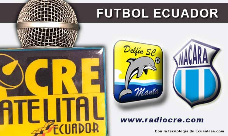 Delfín, Fútbol, Macará, Campeonato Ecuatoriano,