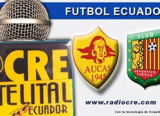 Aucas, Fútbol, Deportivo Cuenca, Campeonato Ecuatoriano,