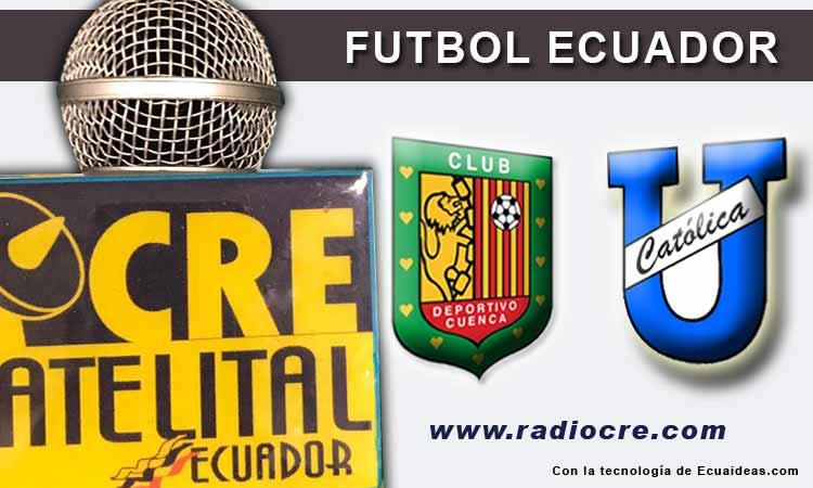Deportivo Cuenca, U. Católica, Fútbol, Campeonato Ecuatoriano,