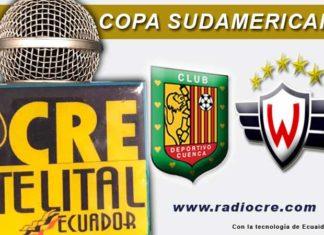 Deportivo Cuenca, Fútbol, Wilsterman, Copa Sudamericana,