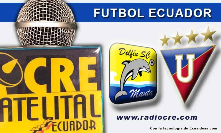 Delfín, Fútbol, Liga de Quito, Campeonato Ecuatoriano,