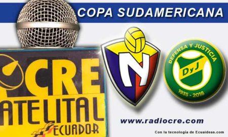 El Nacional, Fútbol, Copa Sudamericana, FOX Sport, En Vivo,