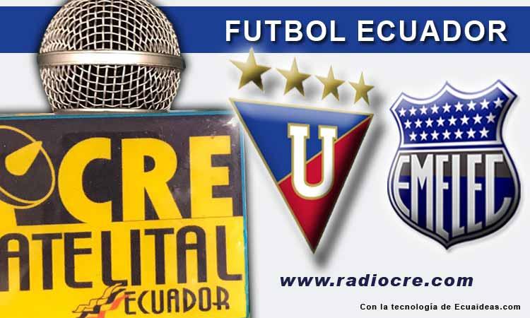 Liga de Quito, Fútbol, Emelec, Campeonato Ecuatoriano,