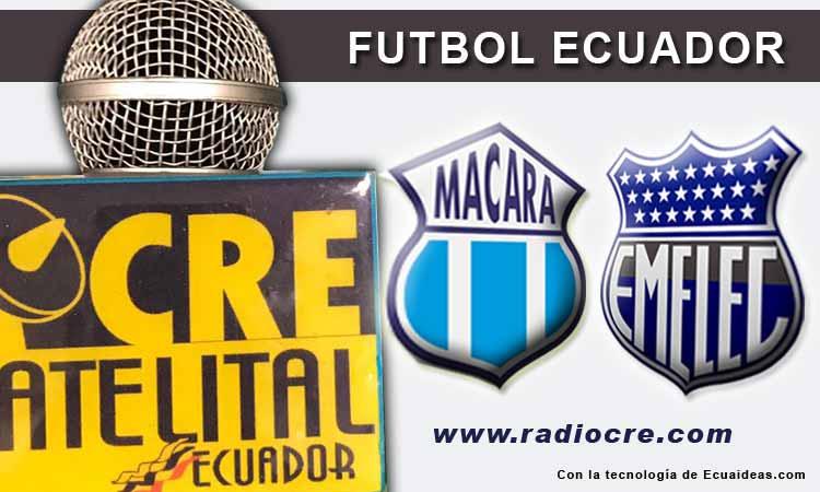 Emelec, Fútbol, Macará, Campeonato Ecuatoriano,