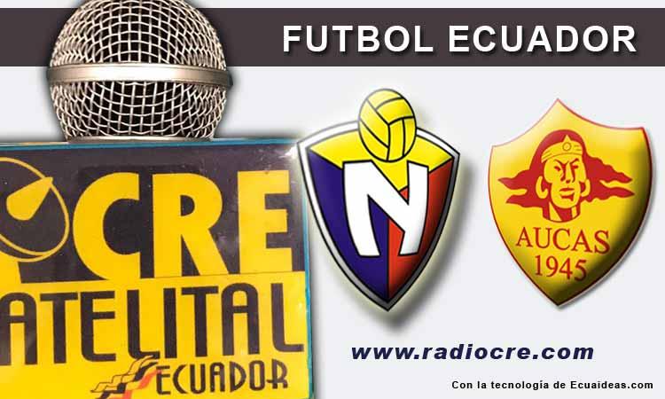 El Nacional, Aucas, Futbol, Campeonato Ecuatoriano,