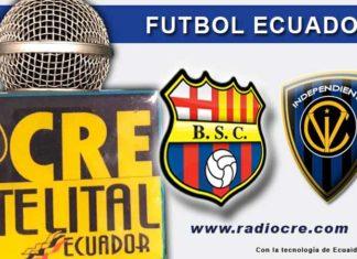 Barcelona, Fútbol, Independiente, Campeonato Ecuatoriano,
