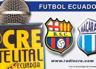 Barcelona, Fútbol, Macará, Campeonato Ecuatoriano,