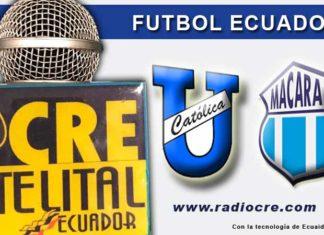 U. Católica, Fútbol, Macará, Campeonato Ecuatoriano, En VIVO,