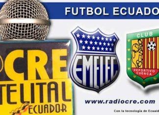 Emelec, Fútbol, Deportivo Cuenca, Campeonato Ecuatoriano, En Vivo,