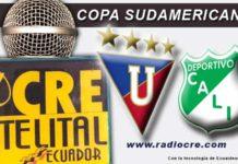 Liga de Quito, Fútbol, Copa Sudamericana, En Vivo, FOX Sport,