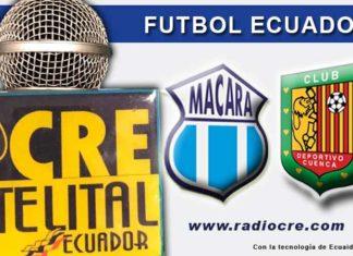 Macará, Fútbol, Deportivo Cuenca, Campeonato Ecuatoriano, EN VIVO,