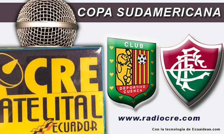 Deportivo Cuenca, Fútbol, FOX Sport, Copa Sudamericana, En Vivo, Fluminense,