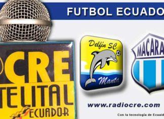 Delfín, Fútbol, Macará, Campeonato Ecuatoriano, En Vivo,
