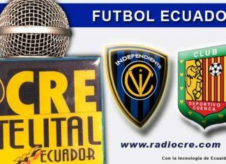 Independiente, Fútbol, Deportivo Cuenca, Campeonato Ecuatoriano, En Vivo,
