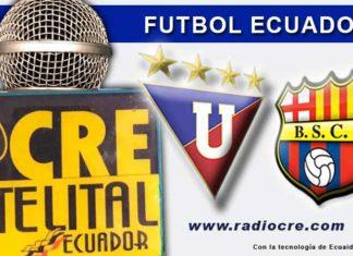 Liga de Quito, Fútbol, Barcelona, Campeonato Ecuatoriano, En Vivo,