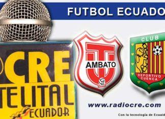 Técnico Universitario, Fútbol, Deportivo Cuenca, Campeonato Ecuatoriano, EN Vivo,