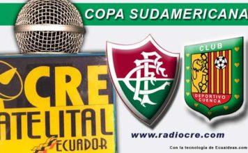 Fluminense, Fútbol, Copa Sudamericana, FOX Sport, Deportivo Cuenca,